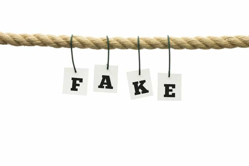 Impostor Syndrome background fake on rope