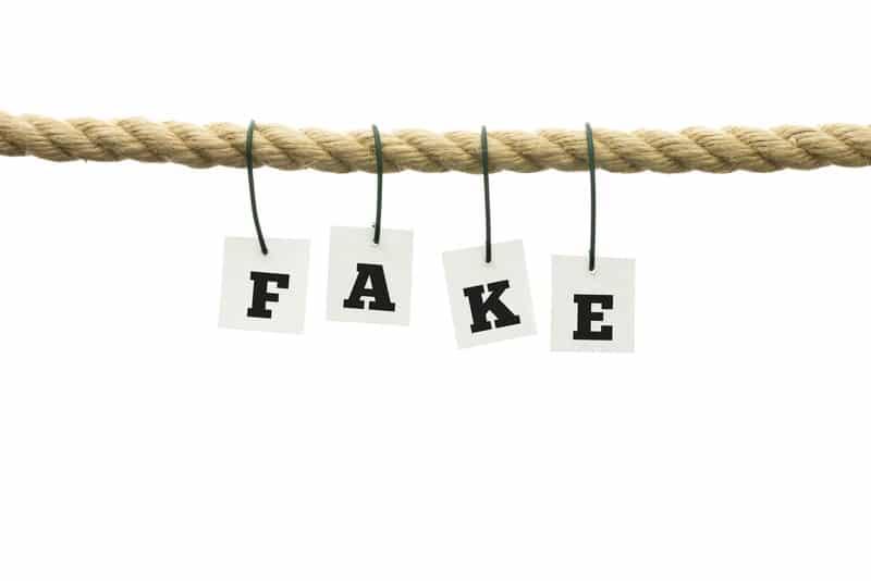 Impostor Syndrome background fake on rope