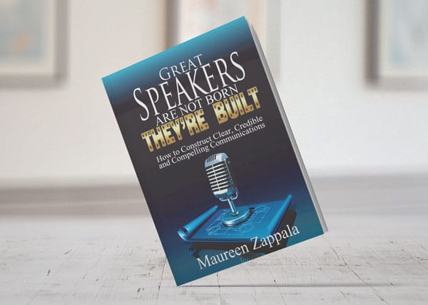 Great Speakers are not Born They're Built book cover