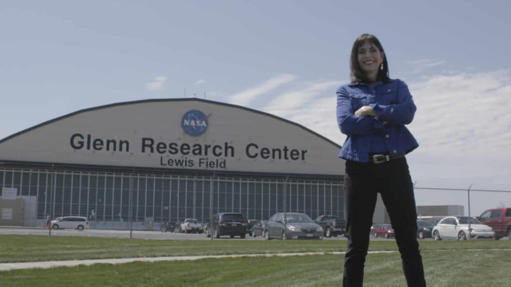 MAUREEN Zappala outside Glenn Research Center